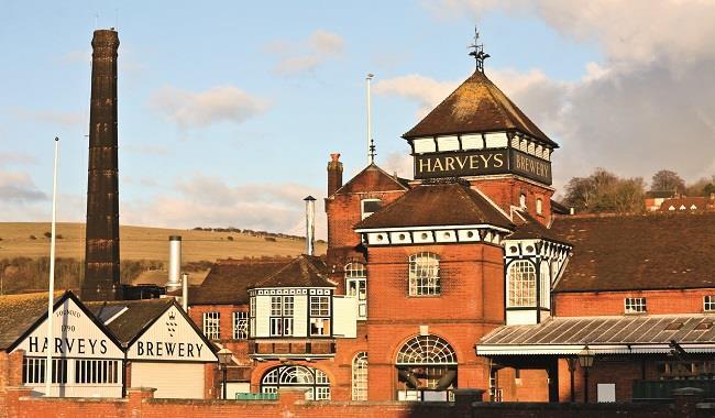 Harvey's Brewery, shop