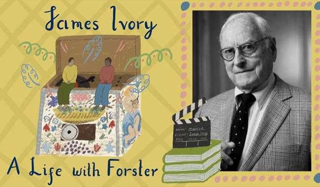 James Ivory poster
