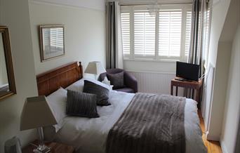 Cranleigh House bedroom