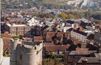 front cover of Lewes mini visitor guide