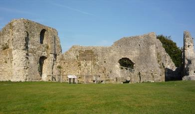 View of Priory ruins