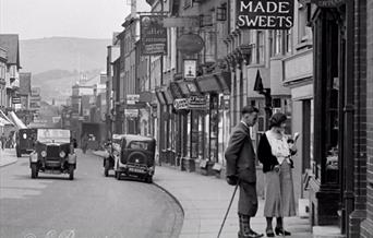 Lewes High Street in the 1930s