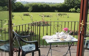 Bryn Clai garden view