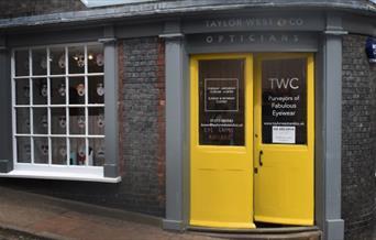 Taylor West shop front