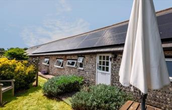View of Barn Owls Holiday Cottages front elevation