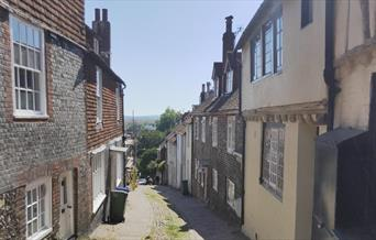 View from the top of Keere Street