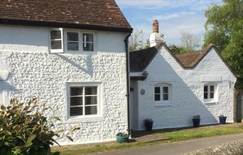 Blythe Cottage front elevation