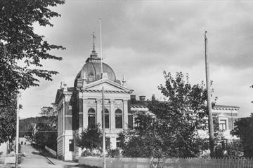 Kulturhuset Banken sett mot Bankgata