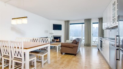 Apartment, living room Nermotunet