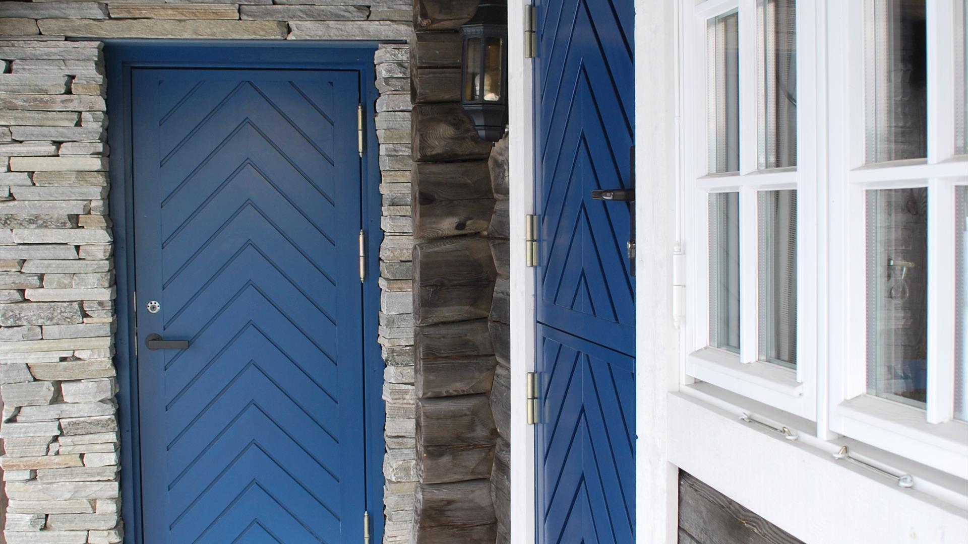 Inngangsparti hytte, Nordseter Fjellpark