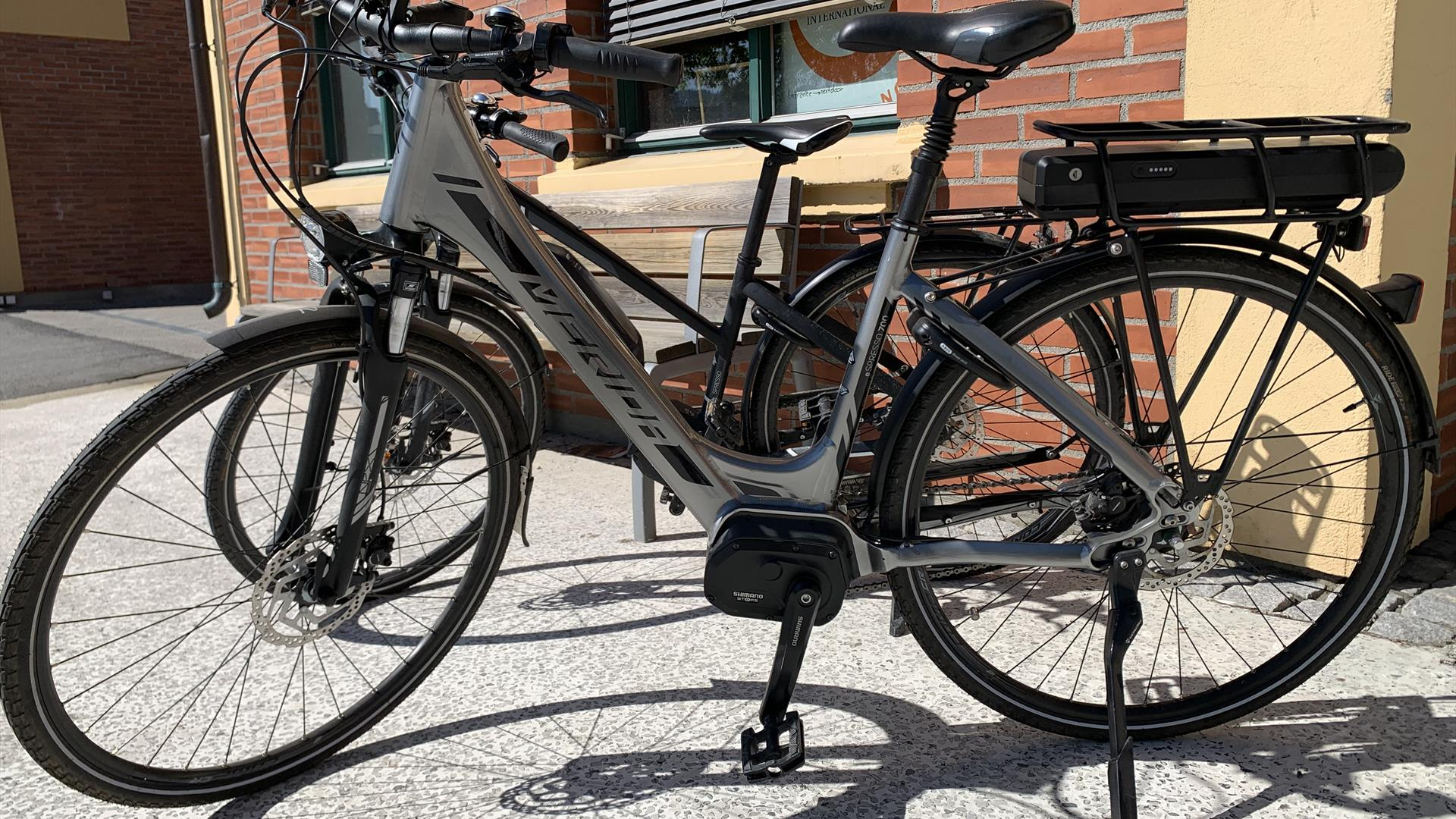 Electric bicycles at Lillehammer