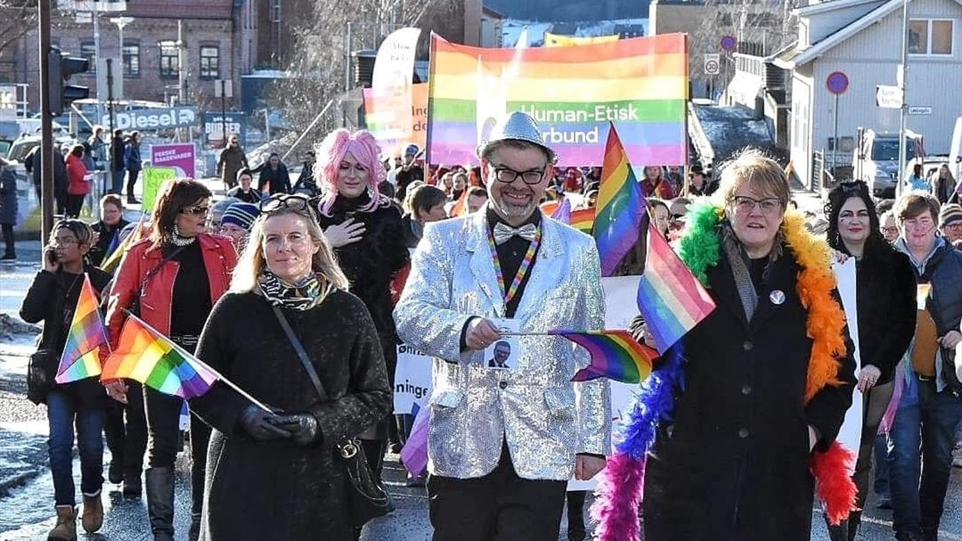 Vinterpride paraden