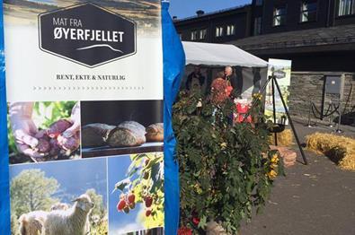 Matmarked på Pellestova Hotell