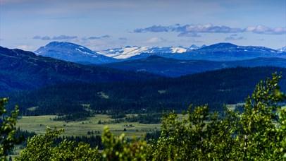 Beautiful landscape in Espedalen
