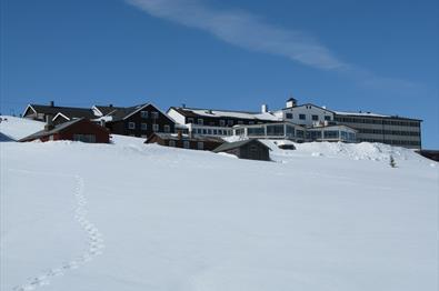 Hornsjø Høyfjellshotell vinter
