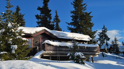 Cabin winter Nordseter