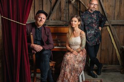 Maria Solheim, Lewi Bergrud og Ole Børud