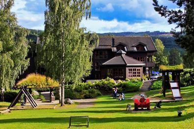 The playground - Hunderfossen Hotel & Resort