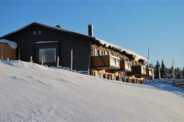 The apartments in winter, Nordseter Fjellpark
