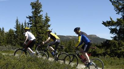 Biking in Kvitfjell