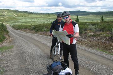 Die Alm Strassse in Øyerfjellet (60,6 km)