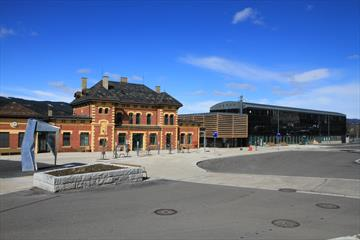 Lillehammer Turistkontor på Lillehammer Skysstasjon