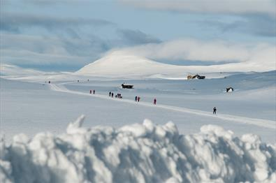 View from Smuksjøseter