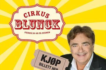 Øyvind Blunck kommer til Maihaugsalen med sitt nyeste show!