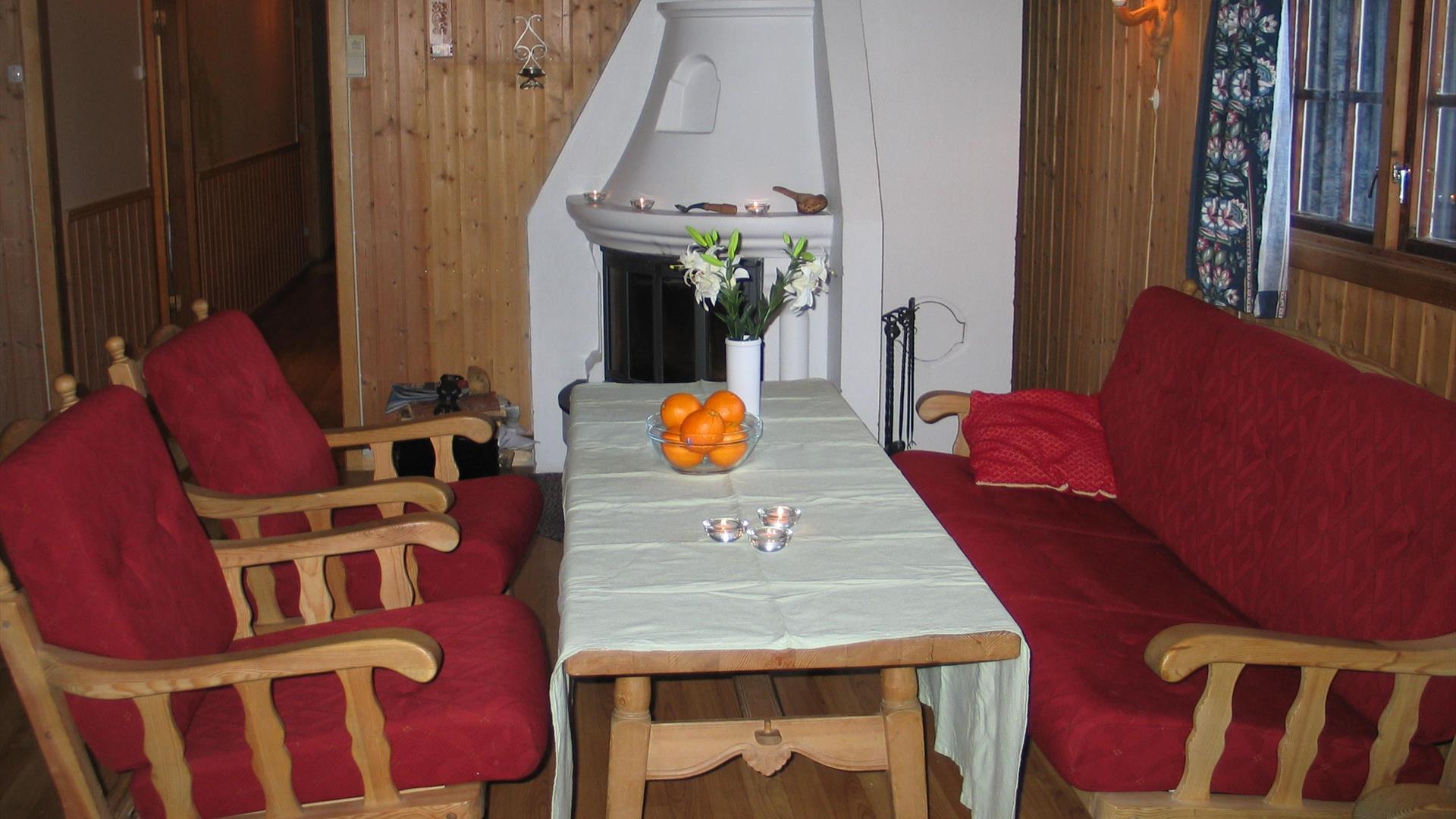 Living room Kvamhytta