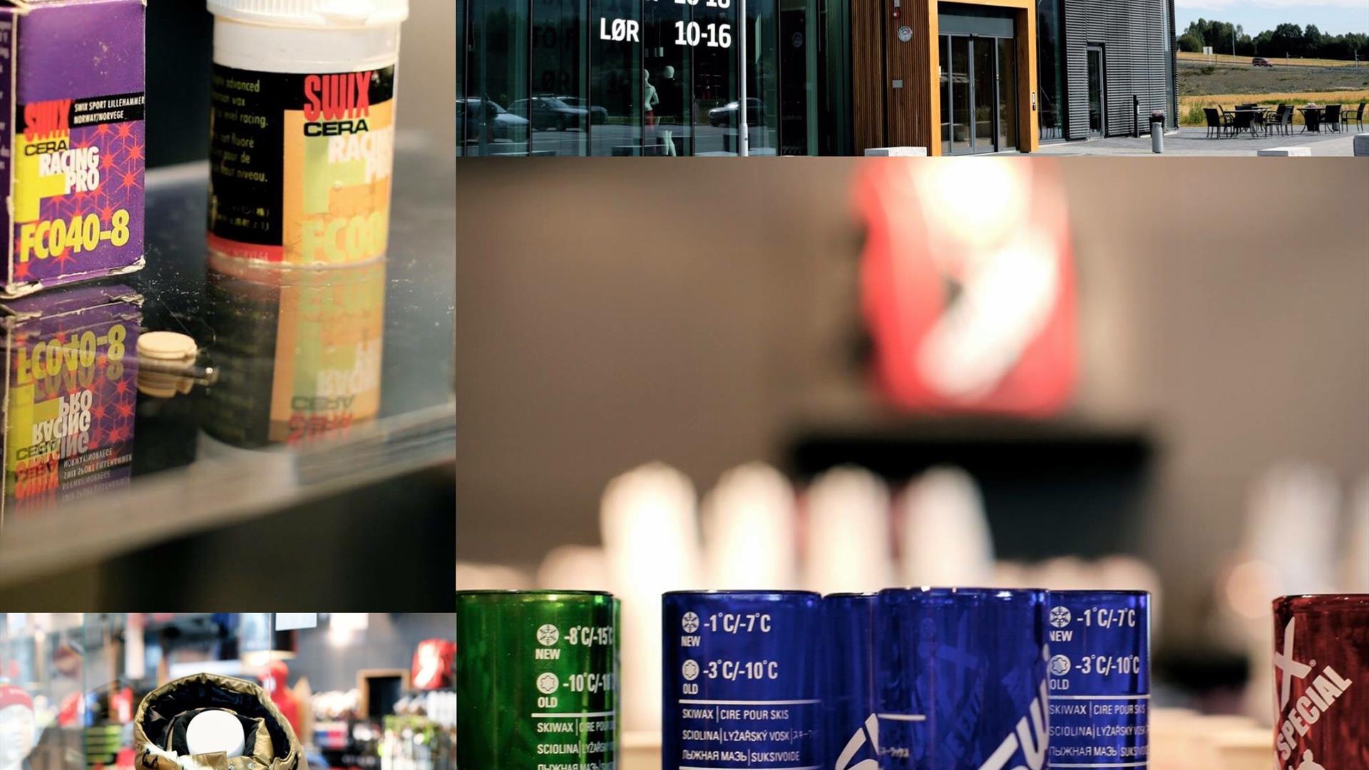 Forskjellig skismørning hos Blåswixbutikken Concept Store