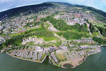Overview Lillehammer Camping