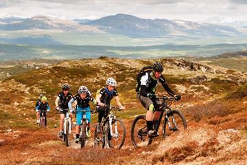 Radfahren - um die Skeikampen (12,6 km)