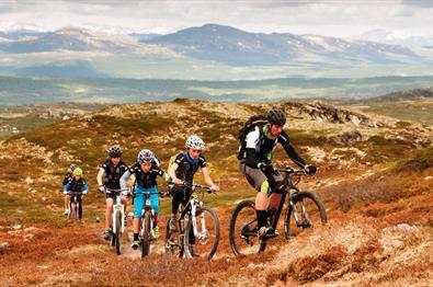 Sykkeltur - Skeikampen rundt (12,6 km)
