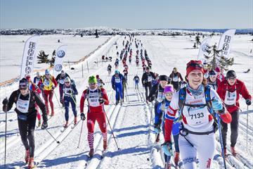 Birkebeinerrennet (Birkebeiner Skirennen) 54 km