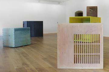 Camilla Steinum, fra utstilling ved Kunstverein Göttingen Foto: Silke Briel.
