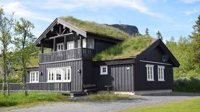 Cottage with grass roof - Skeikampen Booking