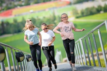 Challenge936 aktivitetsløype i Lysgårdsbakkene hoppanlegg i Lillehammer.