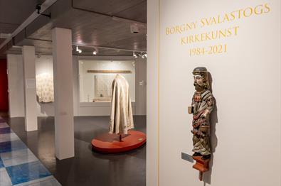 Installasjonsfoto fra utstilling