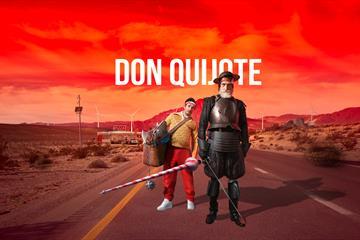 Riksteatrets forestilling Don Quijote