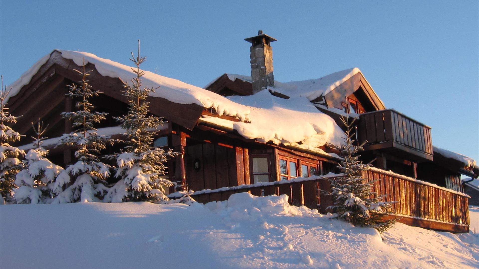 Hytter vinter, Norgesbooking