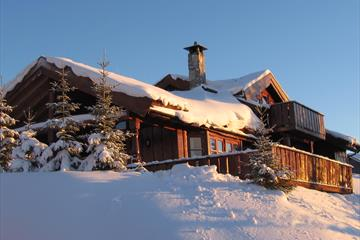 Cabin winter, Norgesbooking