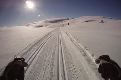 Die Langlaufstrecke Årstulen–Lauåsen (26 km)