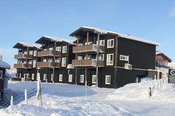 The apartments Hafjelltoppen apartments Gaiastova, winter