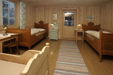 From inside the room, Fossegården Motell