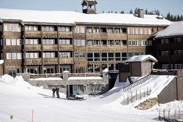 Winter at GudbrandsGard Hotell