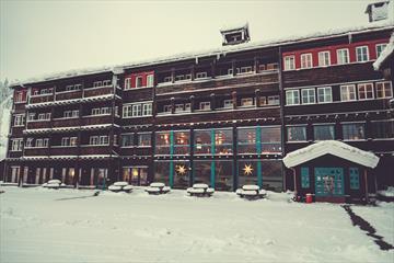 Gudbrandsgard Hotell winter