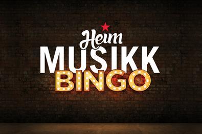 Heim Musikkbingo