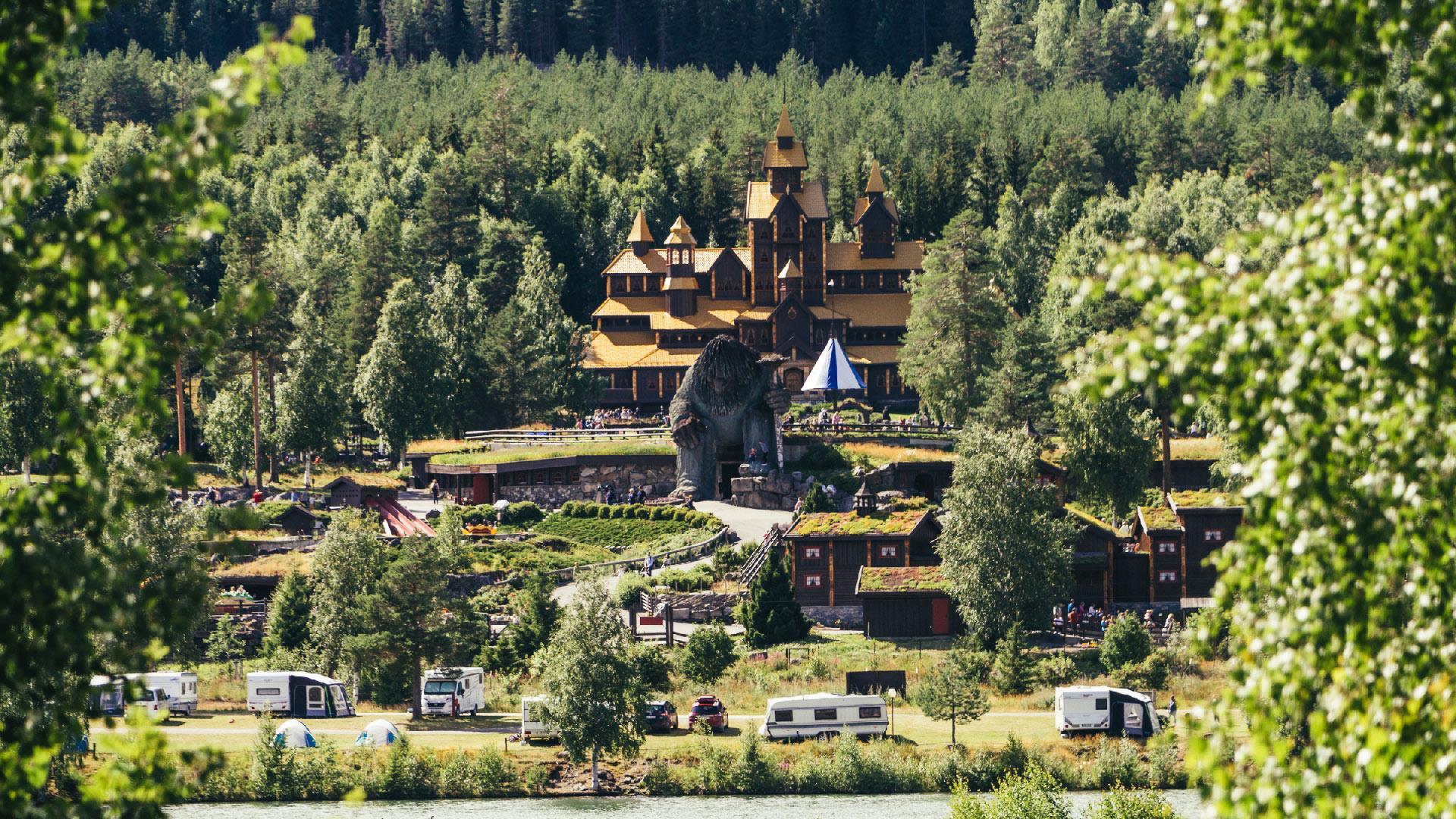 Hunderfossen Camping, Lillehammer