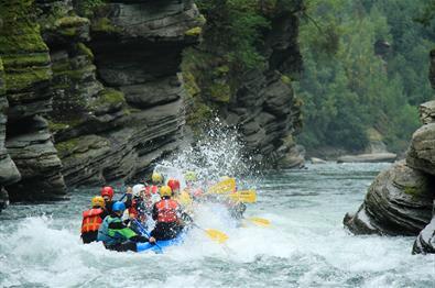 Sjoa double rafting