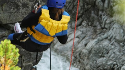 Canyoning with Go Sjoa Rafting